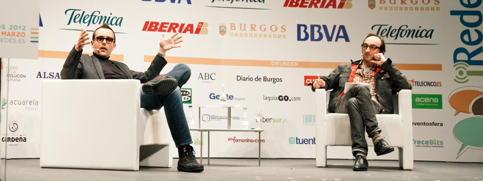 Diálogo de Risto Mejide y Agustín Fernández Mallo en iRedes