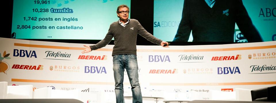 Martin Varsavsky inaugura iRedes hablando de las redes sociales, el trabajo y el tiempo
