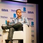 Álvaro Varona @kremaster, moderando la mesa deportiva. Foto de Victoriano Izquierdo @victorianoi