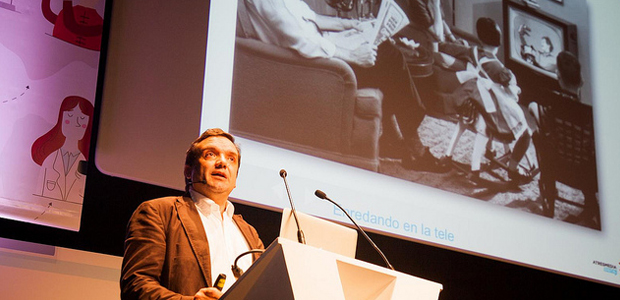Enredando en la tele, charla de Francisco Sierra en iRedes