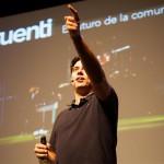 Muriel habló sobre el futuro de la comunicación social. Foto de Victoriano Izquierdo - @victorianoi