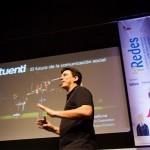 Sebastián Muriel en la conferencia inaugural. Foto de Victoriano Izquierdo - @victorianoi
