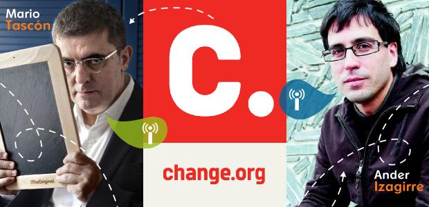 Mario Tascón, Change.org y Ander Izagirre, ganadores de los Premios iRedes 2013