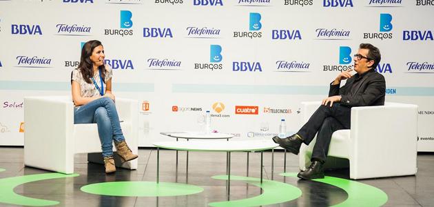 Diálogo entre Andreu Buenafuente y Ana Pastor en iRedes