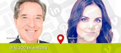 Iñaki Gabilondo y Mónica Carrillo