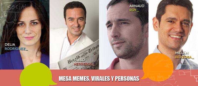 Mesa redonda en iRedes sobre Virales, memes y personas