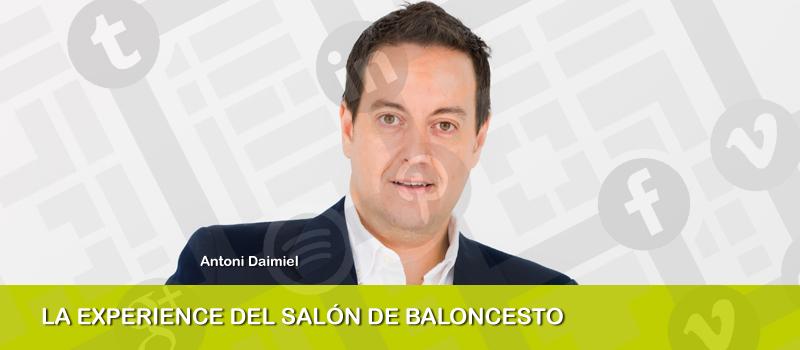 """La """"experience"""" del salón del baloncesto, charla de Antoni Daimiel en iRedes"""