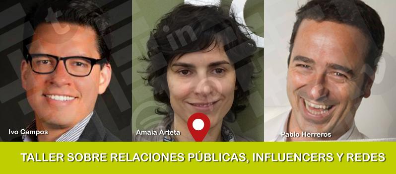 Taller sobre relaciones públicas, influencers y redes sociales
