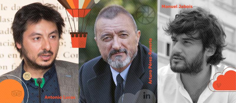 Diálogo de Arturo Pérez-Reverte, Antonio Lucas y Manuel Jabois en iRedes