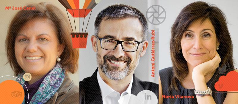 La hora de la democracia en red, a debate en iRedes con María José Canel, Antoni Gutiérrez-Rubí y Núria Vilanova