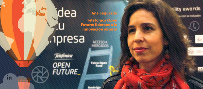 Telefónica Open Future: liderando la innovación abierta, charla de Ana Segurado en iRedes