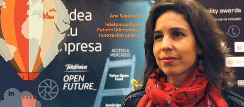 Telefónica Open Future: liderando la innovación abierta, charla de Ana Segurado en iRedes