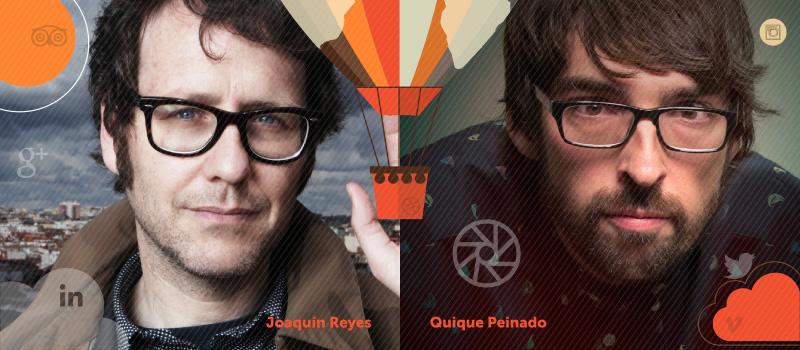 Diálogo de Joaquín Reyes y Quique Peinado en iRedes